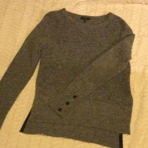 Rag & Bone grey wool sweater